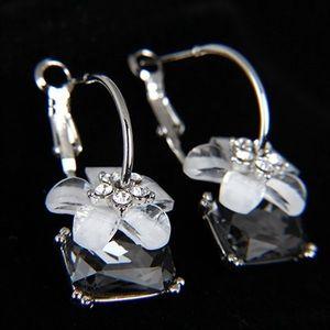 Jewelry - Gray Crystal Fashion Earrings